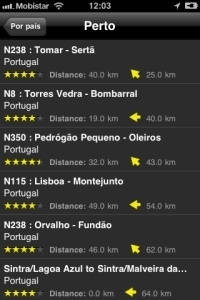 iPhone App Motorradstrecken screenshot10
