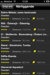 iPhone App Motorradstrecken screenshot6